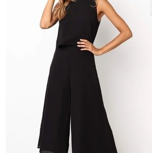 New Black Romper - Medium